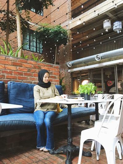 Asian hijabi