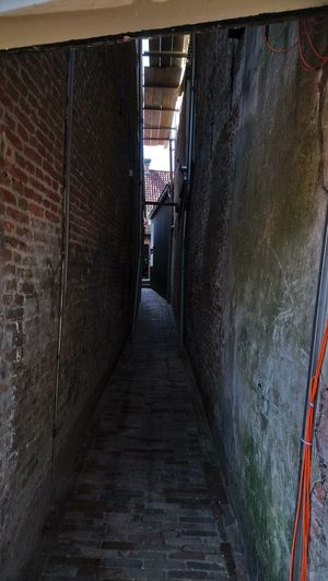 Architecture Built Structure Alley Steps Narrow Pathway Passageway Tunnel