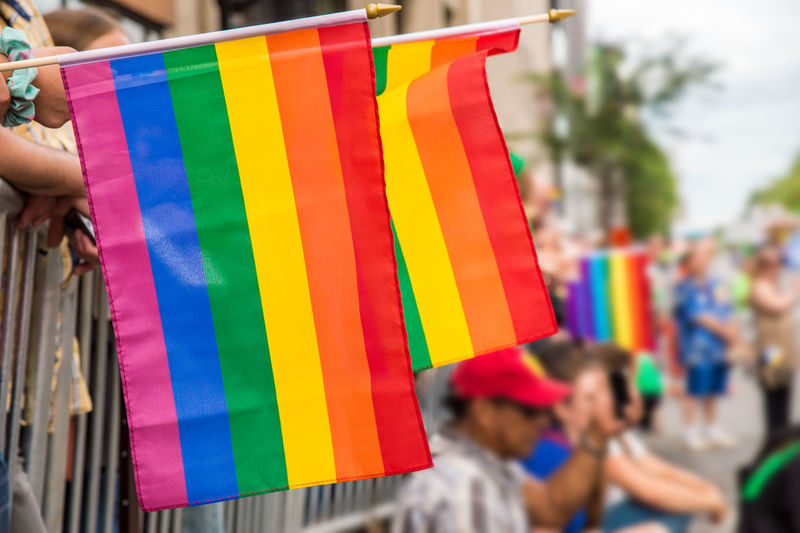 Gay rainbow flags at Montreal gay pride parade with blurred spectators in the background Multi Colored Focus On Foreground Group Of People Flag Day Real People Outdoors Gay GAY FLAG Gay Pride Gaypride Gay Parade   Montréal Canada Rainbow Flag Gay Rights Lgbt LGBT Rainbows Lgbt ❤️ Lgbtq