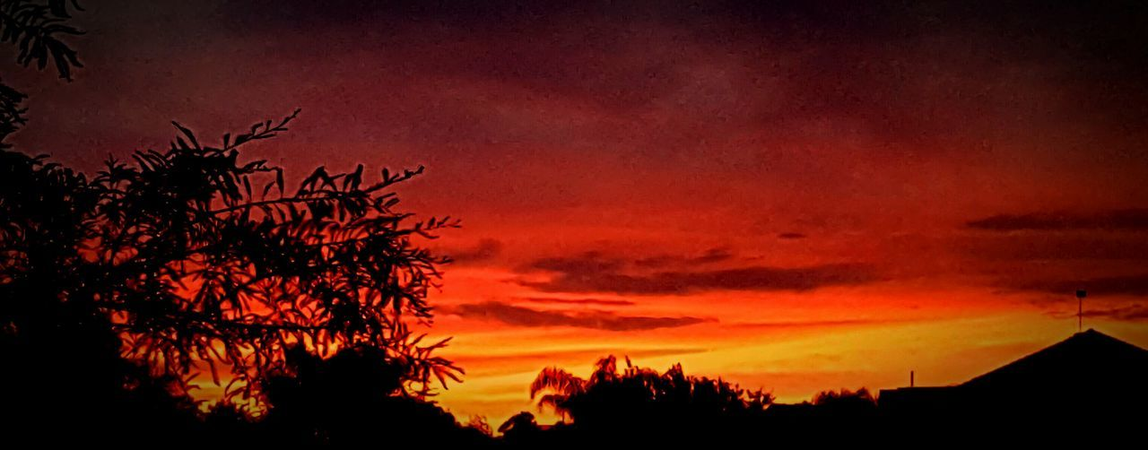 Colourful Edited My Way Dusk Dusk Colours Florida Sunset Sunset Silhouettes Beauty In Nature Beautiful Highcontrast Highsaturation Beautiful Nature