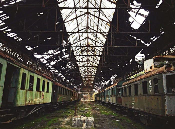 Train Station Trainwreck