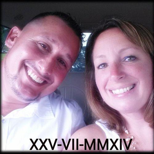 XXV-VII-MMXIV I love this man ♡ 07252014 RomanNumerals Husband Teamynocencio