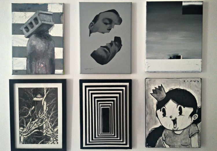 Blackandwhite Blackandwhitrartwork Artworks Exhibit Art Eyem Gallery