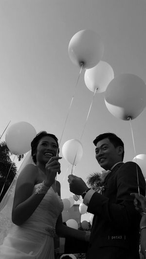 Love is in the air EyeEm Best Shots - Black + White Blackandwhite Wedding