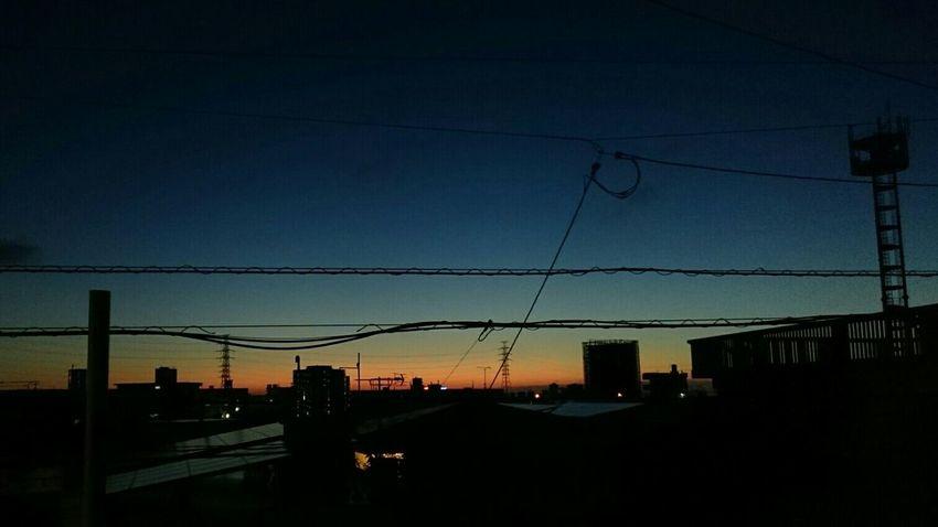19時40分✨ 最近、日が落ちるのが遅くなってきた🌆 Evening Sky Magic Hour Andrography NoEditNoFilter Steel TowerLC Beautiful