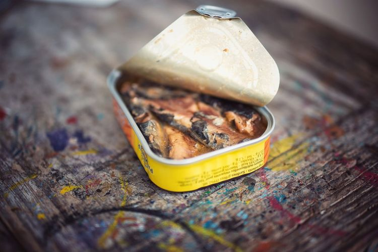 Food Close-up No People Food And Drink Day Outdoors Food And Drink Ready-to-eat Fish Omega 3 Fatty Acids Fat Sardines Sardine