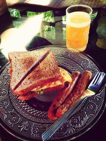 Decent breakfast by the caretaker