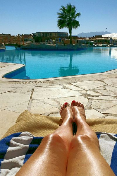 Hotel View Hotel Pool Bronzed Legs Turquoise Water Body Part Coconut Tree Swimming Pool Relaxing Enjoying Life Reflections And Shadows Mirroring In Water Sublime Living Reflections In The Water From My Sunbed Holiday POV Holiday Memories Travels Ladies Legs Holiday Feeling Urlaubsfeeling Urlaubsstimmung Urlaubsbräune Tanned Legs Braune Beine Legs And Feet This Is Aging