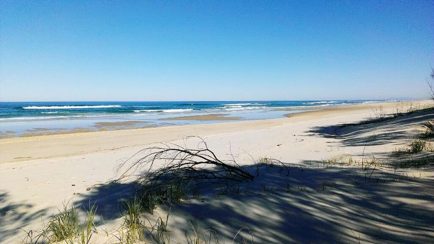 Main Beach North Stradbroke Island Queensland Australia Beach Sand Pacific Ocean Sea Ocean Waves Camping Holiday Beach Camping Beach Driving