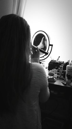 She's perfect at everything she does B&w Smiles I Love Her <3 Beautiful Eyem Best Shots - Black + White Makeup