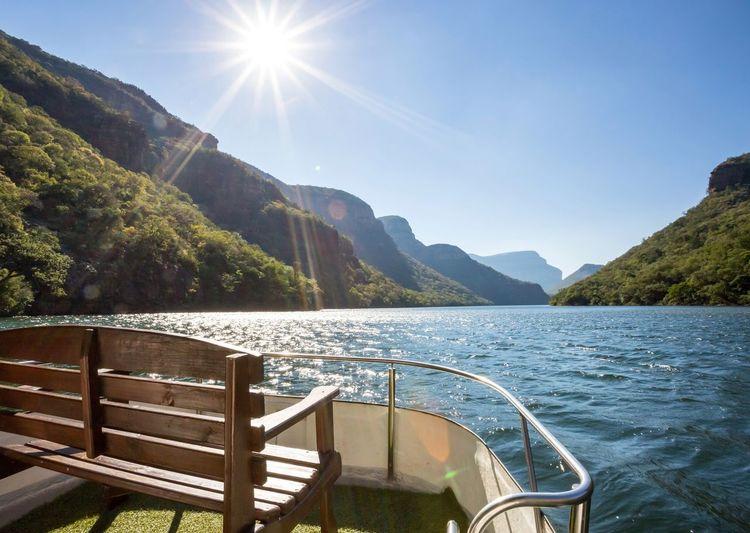 Boat cruise on