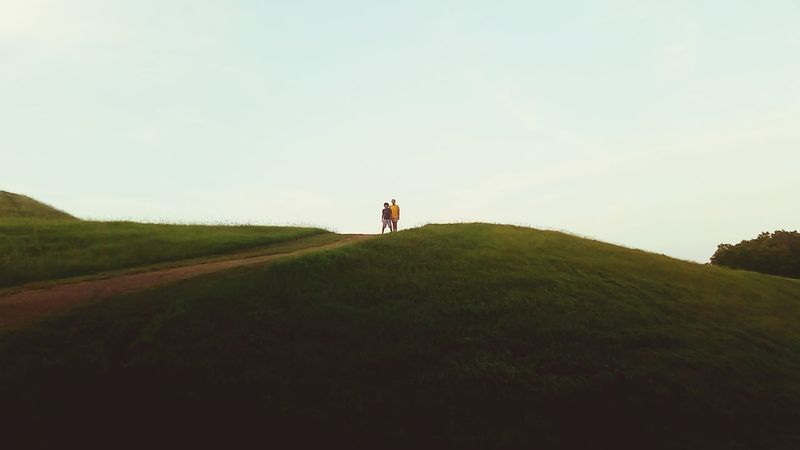 Emerald Mounds, Natchez Trace...Native American Indian Burial Mounds... Burial Mound Summer Views emerald mound Natchez Trace My Kiddos Outside Photography Mississippi Summer Live For The Story Place Of Heart The Great Outdoors - 2017 EyeEm Awards