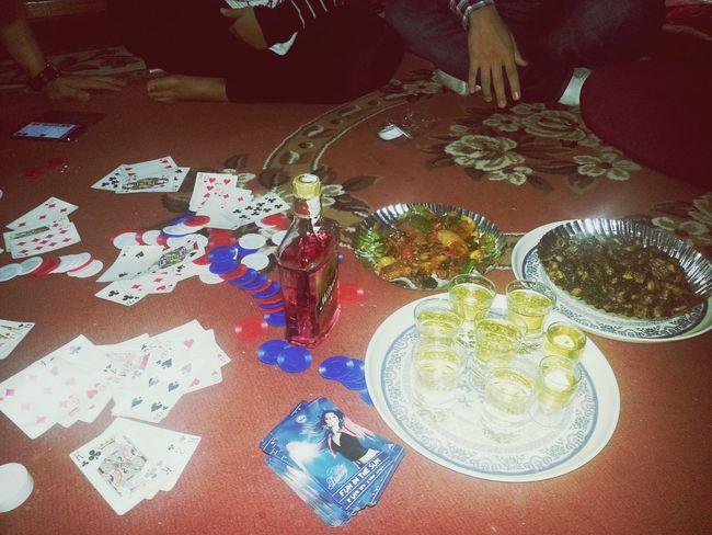 Celebeating this dashai.. :) happy dashai Dashain Playing Cards Gambling Drinking