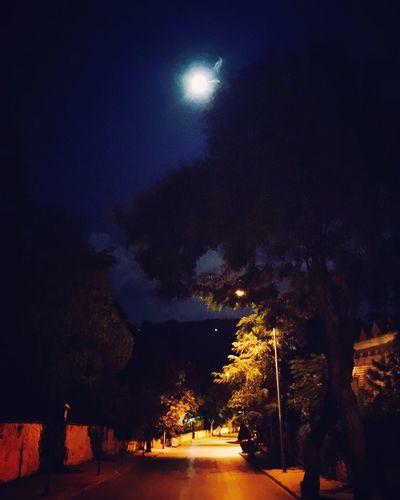 Full Moon Büyükada Prinkipo Princeislands