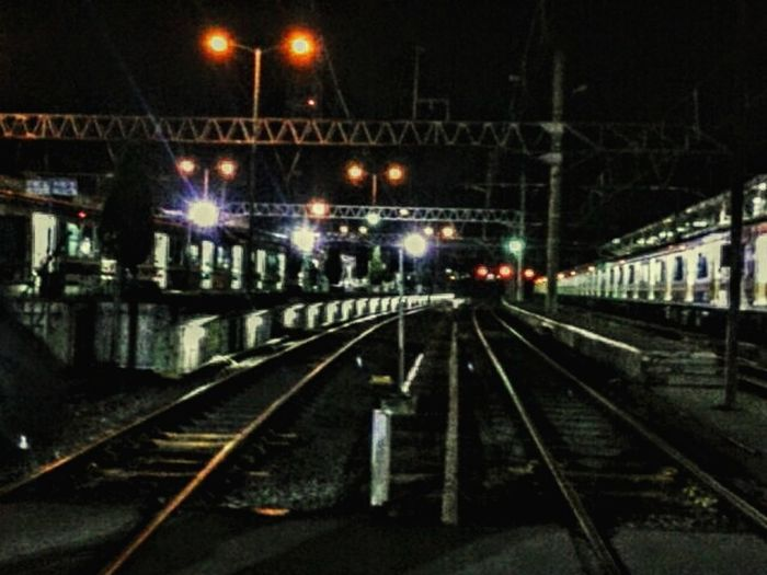nite nite! Night Photography Night Lights Hdr_Collection Train Station The City Light