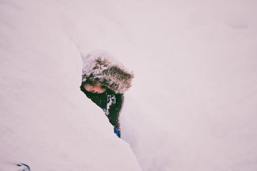 Snow Fort Fairbanks Alaska