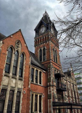Gothic Town Hall - Burton-on-Trent Burtonontrent Burton  Townhall Staffordshire