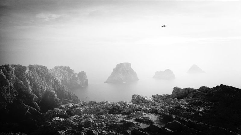 Tas de pois Bretagne Bretagnetourisme Cliffs Seascape