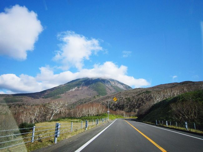 知床峠 Shiretoko Mountain Sky Road Nature Beauty In Nature Travel Trip 道東旅行 Doto Trip 20111104 The Way Forward Hokkaido,Japan