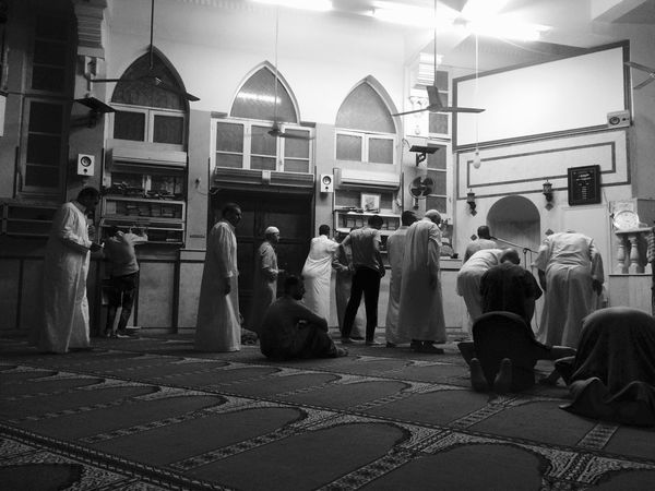 Religion Large Group Of People Spirituality Built Structure Men Architecture Place Of Worship Real People Sitting Women Building Exterior Indoors  Day Adult People Mosque First Eyeem Photo IPhoneography Mobilephotography Prayer Praying The Week On EyeEm Rethink Things Be. Ready.