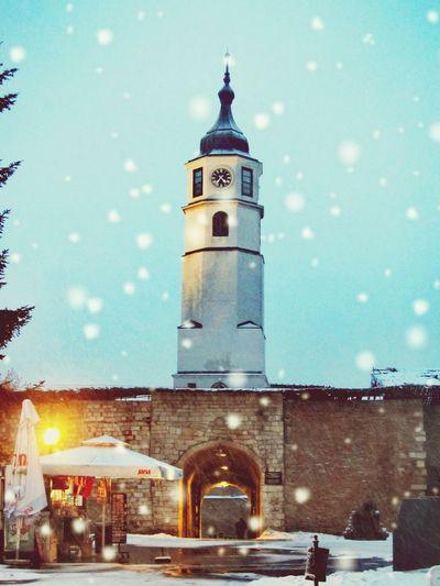Beograd Belgrade Beograda Kalemegdan  Syrbija Serbia Sırbistan Belgrad Tower Winter