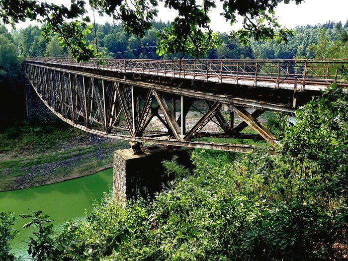 Bridge Rail Bridge Railway River View