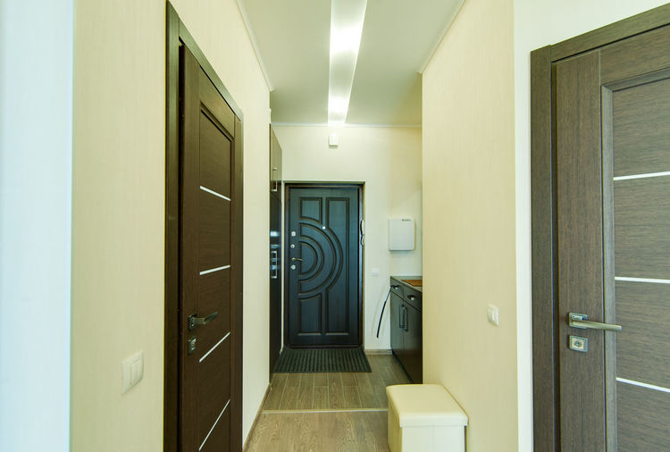 Door Architecture Entrance Indoors  Building Arcade Corridor Built Structure No People Mirror Wall - Building Feature Lighting Equipment Illuminated Home Interior Open Reflection Bathroom Wood - Material Day House Tiled Floor Ceiling