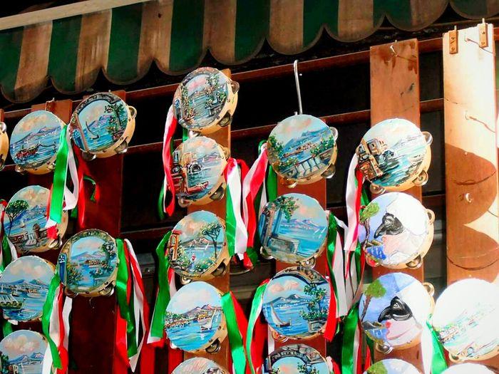Spaccanapoli Sangregorioarmeno Napoliphotoproject Italy Red Green White Music Tradition Tamburello
