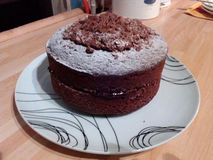 Chocolate cake. Home baked. Baked Cake. Cake Chocolate Chocolate Cake Chocolate Sandwich Cke Close-up Dessert Food Freshness Home Baked. Home Baking. Indoors  Indulgence Plate Sweet Food Table Temptation
