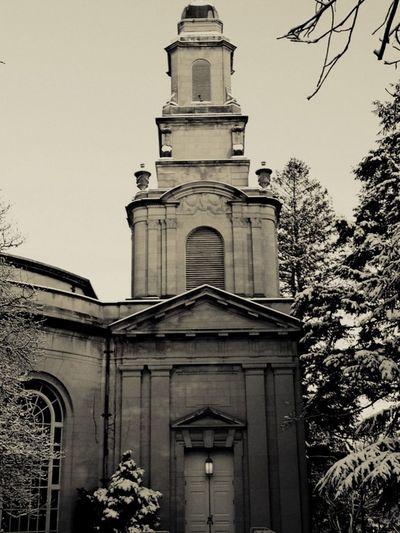 Taking Photos Colton Chapel Architecture