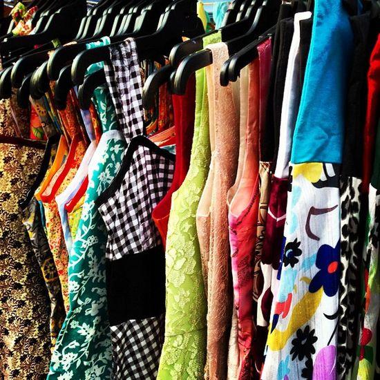 Stall clothes at Brissie Style indie markets Markets Brisbane Handmade Art Craft Designer