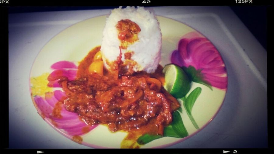 Yeah..I Cook Say It Ain't So I Got Skills Manggg Pins Colada Fish Curry X White Rice