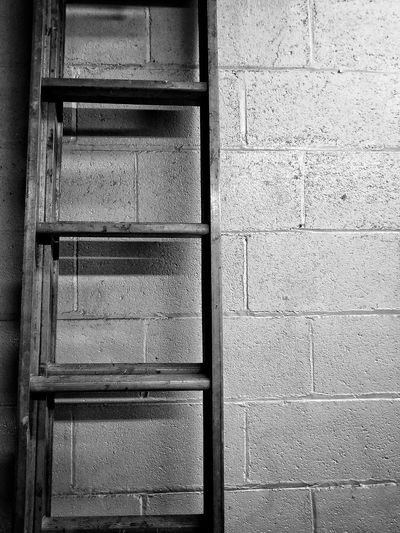 Ladder to Heaven Full Frame Backgrounds Pattern Window No People Built Structure Architecture Indoors  Textured  Day Close-up Ladder To Nowhere Ladder On The Wall Ladder To Heaven Photography Metal Protection Freshness Black And White Friday Black And White Friday