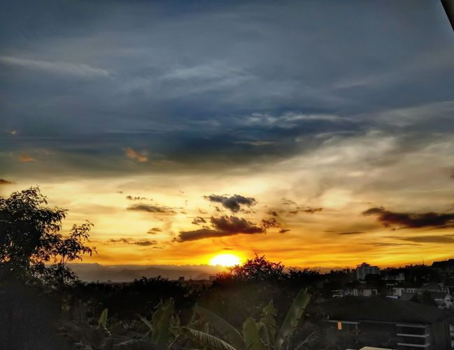 Sunset at Bandung, Indonesia Tree Scenics Nature Landscape Outdoors Beauty In Nature