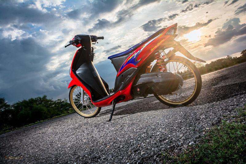Motorcycle Sky