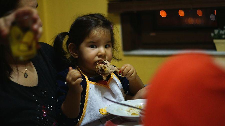 Acıktım Yemek Yiyorum :)