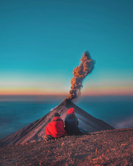 Guatemala greeted us with the most challenging hike and still active Volcán de Fuego, spitting fire into the sky as the sun was setting at 3,976m. Friends Nature Nature Photography Travel Travel Photography Traveling Travelling Beauty In Nature Canon Clear Sky Day Landscape Lifestyles Nature Outdoors People Photo Photography Scenics Sky Sunrise Sunset Travel Destinations Travelphotography Volcano Go Higher Inner Power Summer Exploratorium The Great Outdoors - 2018 EyeEm Awards The Traveler - 2018 EyeEm Awards