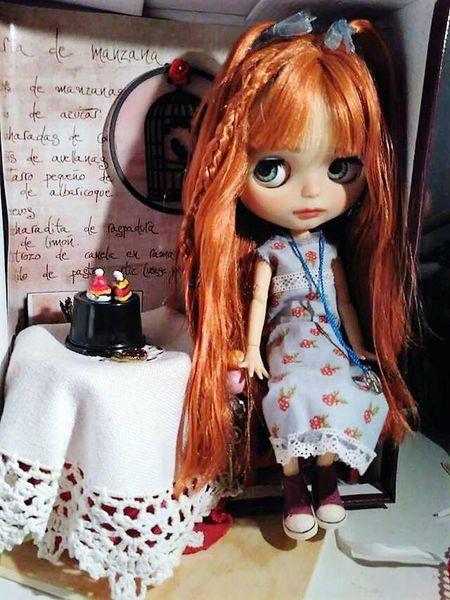Blythe Doll custom RosDolls Ros Ortega Benitez life love dolls bjd-dolls One Girl Only Portrait Locos Cabellos Asian Culture Good Atmosphere Snow.Hotel De Hielo.style Life Life Style Faces Everywhere Asiangirl Enjoying Life