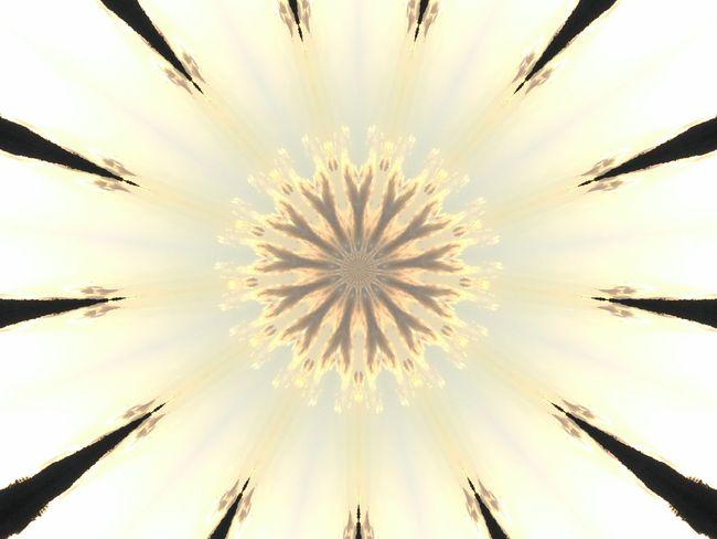Sol Nature Psicodelico Mandala Mandalas Caleidoscopio