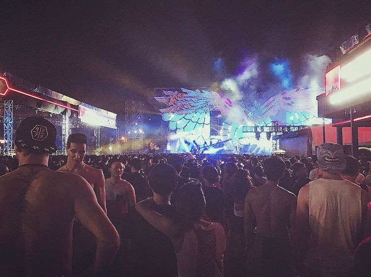 View from Garudha Land, Day 1. DWP16. DanceMusicFestival By ITag Djakarta Warehouse Project By ITag Djakarta Warehouse Project 2016 By ITag Live In Concert By ITag View By ITag