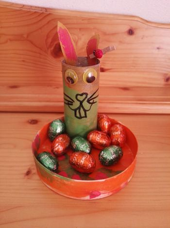 Lapins 🐰🍀 Decorations 🎭 Paques Animal Themes Creativity