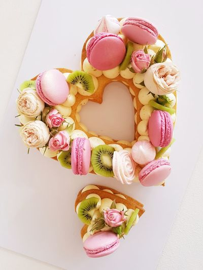cake Heart Heart Shape Heart ❤ Heart Cake EyeEm Selects Candy Easter Multi Colored Pink Color Sweet Food Food And Drink Macaroon Temptation Easter Cake Cake Pie Pastry Slice Of Cake Pastel Colored Dessert Fruitcake