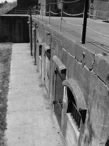Black & White Historical Fort Stevens Forts Angles Black And White Friday