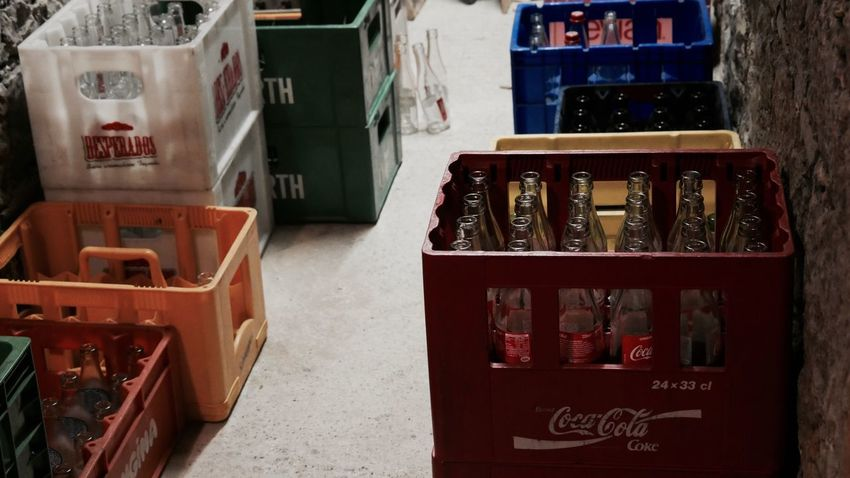 Drink stock Pepsi Perrier Desperados Cocacola Text Choice No People Vending Machine Indoors  Day