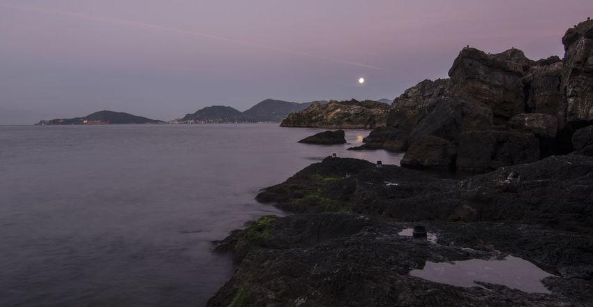 Alba Crepuscolo Italia Italy La Spezia Liguria Mare Sea Sunrise Tellaro Twilight