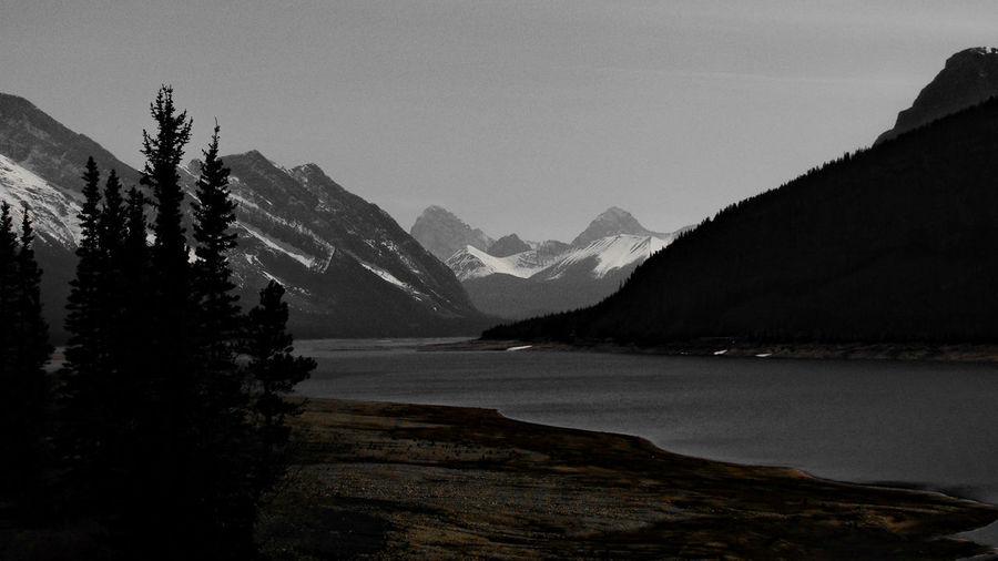 Mountains Lake Nature Mountain Addict Dark EyeEm Nature Lover Showcase July