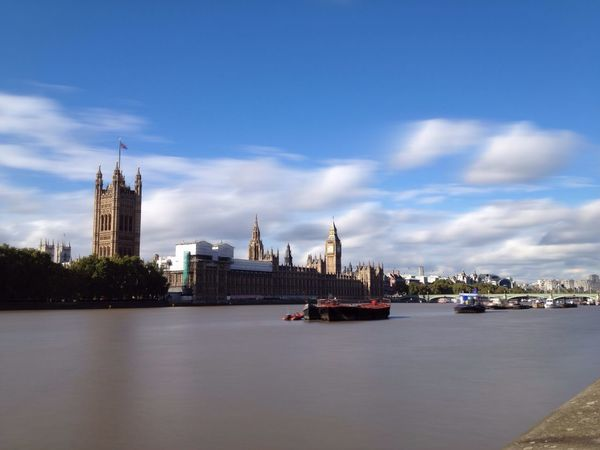 Long exposure of the Houses of Parliament, London London Houses Of Parliament Landmark Big Ben