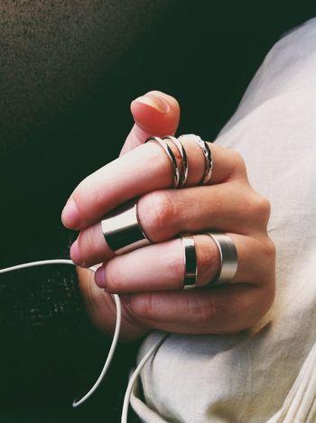 Rings Silver  Love Oldbutnewtoeyeem