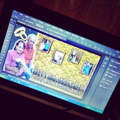 The making :) hahaha 50th Yehey