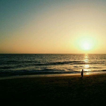Mon quartier :) Sunset Beach Seascape Landscape